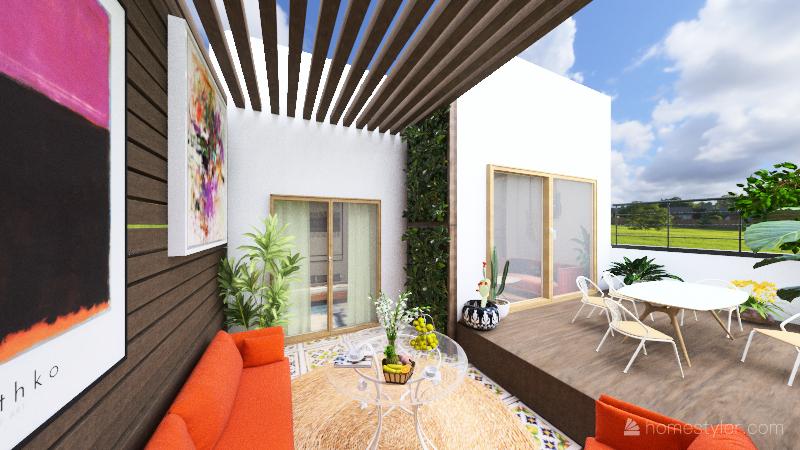 TERRASSA BARCELONA Interior Design Render