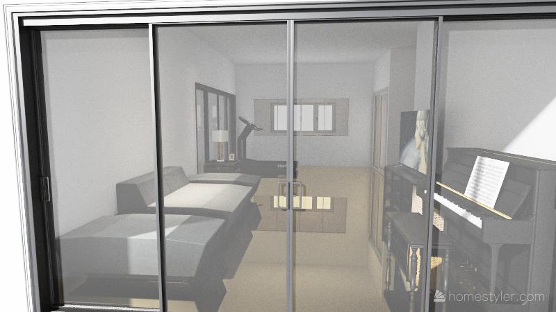 ห้องครัว V.2 Interior Design Render