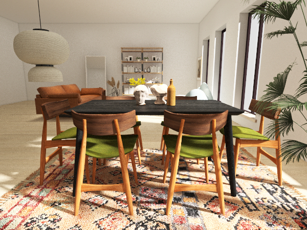 Urban Studio Interior Design Render
