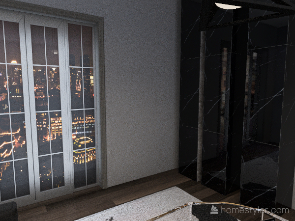 beau bureau/chambre Interior Design Render