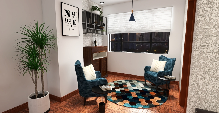 🌎 DEPA CECILIA Interior Design Render