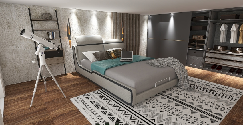 PIETRO BRAZ Interior Design Render