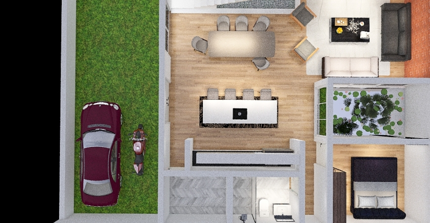 PROYECTO DIANA Interior Design Render
