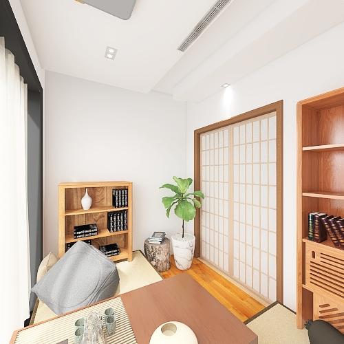 Mrs.Liao sweet home Interior Design Render