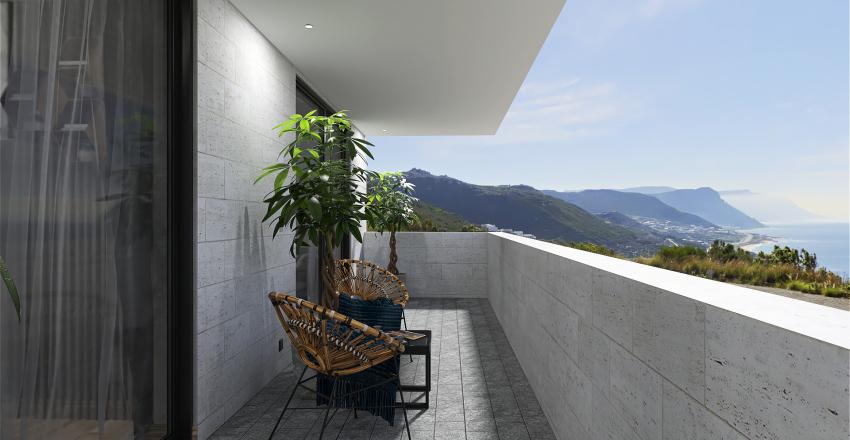 72 Sqm Interior Design Render