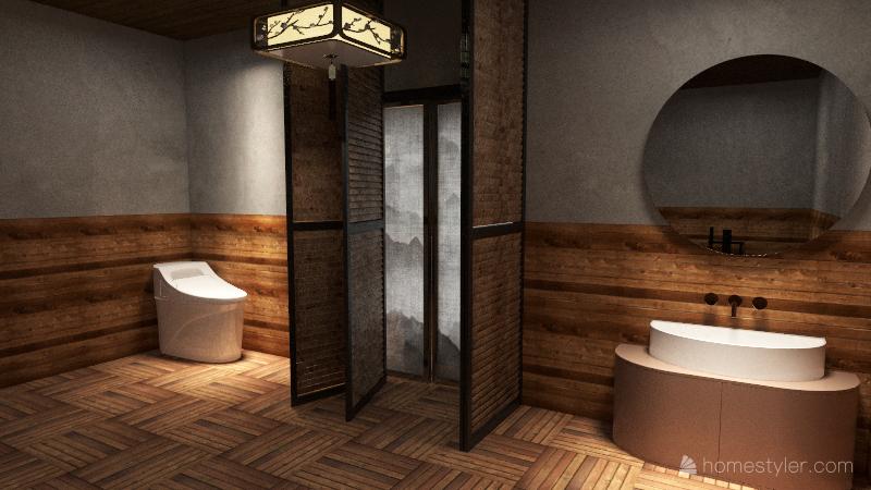 Old Myagi House Interior Design Render