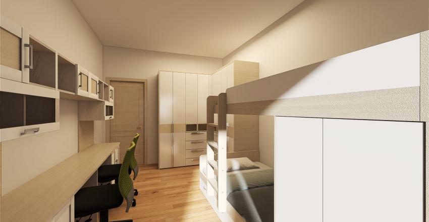 un rendering per agevolare un venditore di immobile Interior Design Render