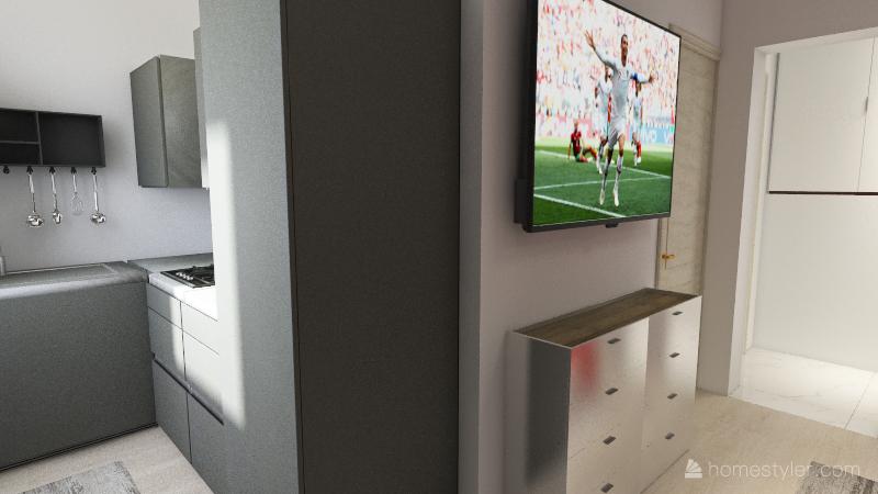 Bacina Prizemlje v4 Interior Design Render