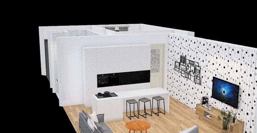 Andrea Urbankova 88 Interior Design Render