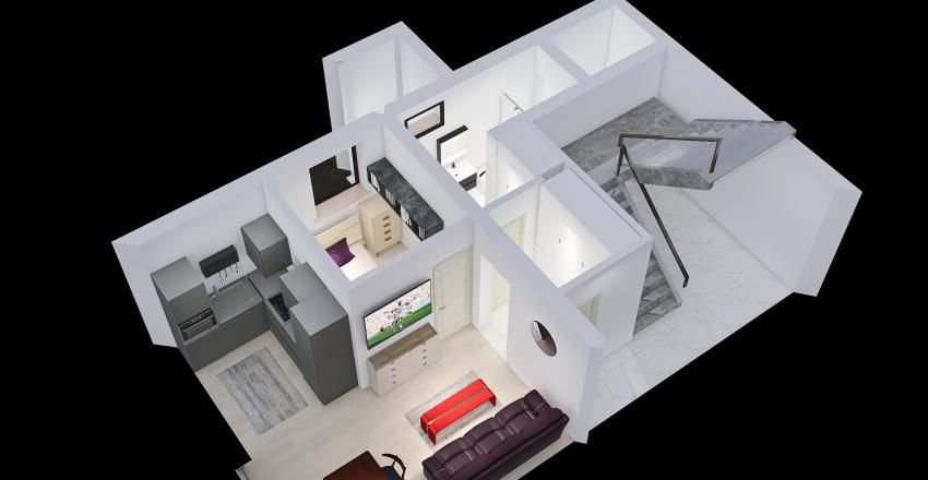 Bacina Prizemlje v3 Interior Design Render