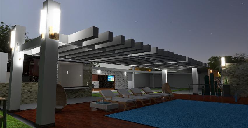 CASA FINCA Interior Design Render