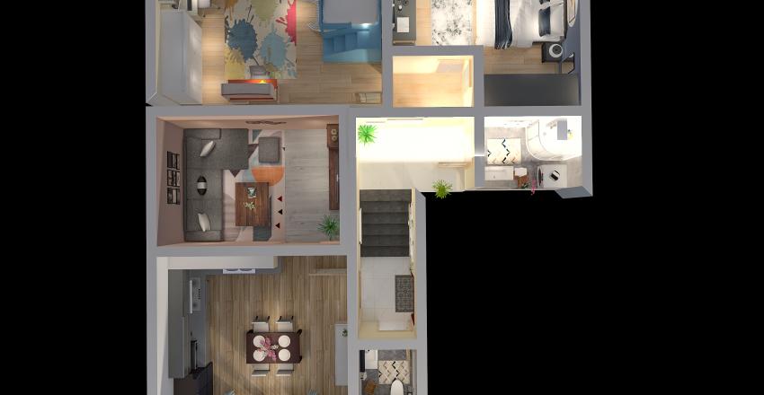 Hanula Interior Design Render