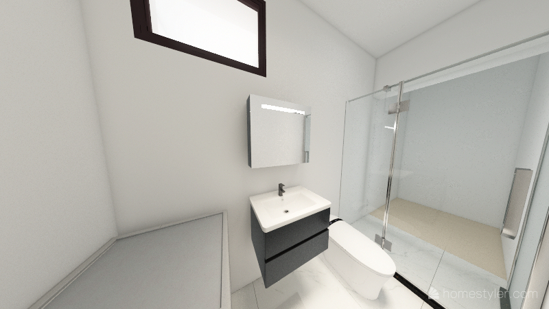 Bacina Prizemlje v5 Interior Design Render