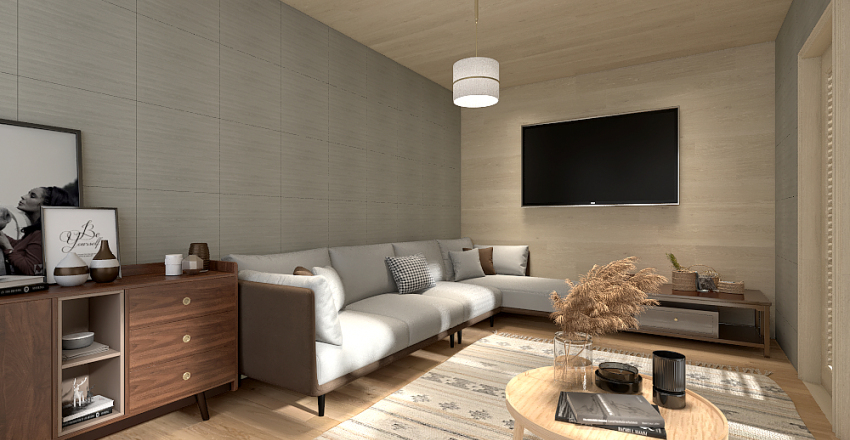 My living room Interior Design Render
