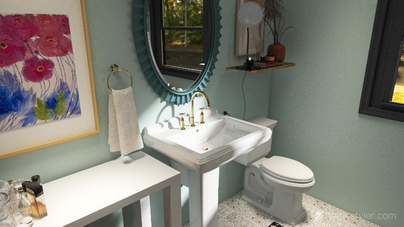 Bonus Room 2.0 Interior Design Render