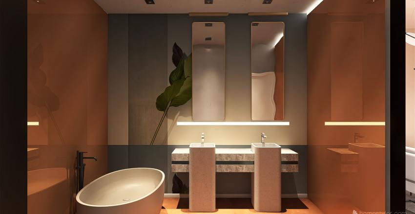 42 apt Interior Design Render