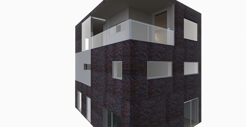 Full House new Correct Wall Height Interior Design Render