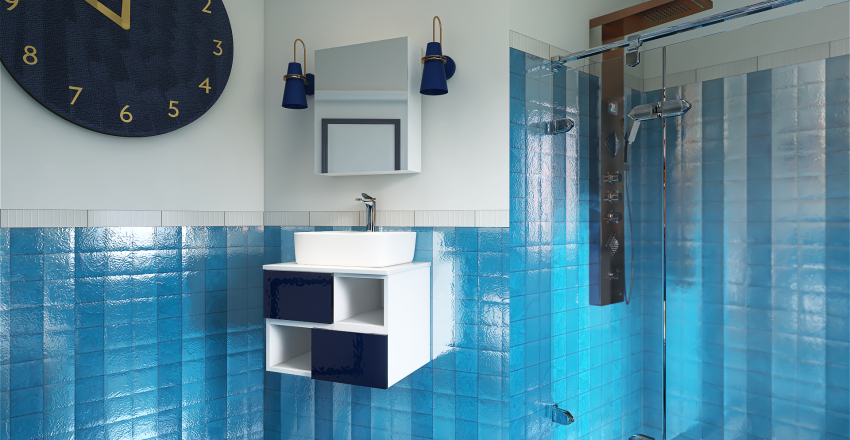 Prove su materiali Interior Design Render