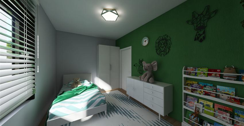 Ożarów 28.04 nowe pokoje Interior Design Render