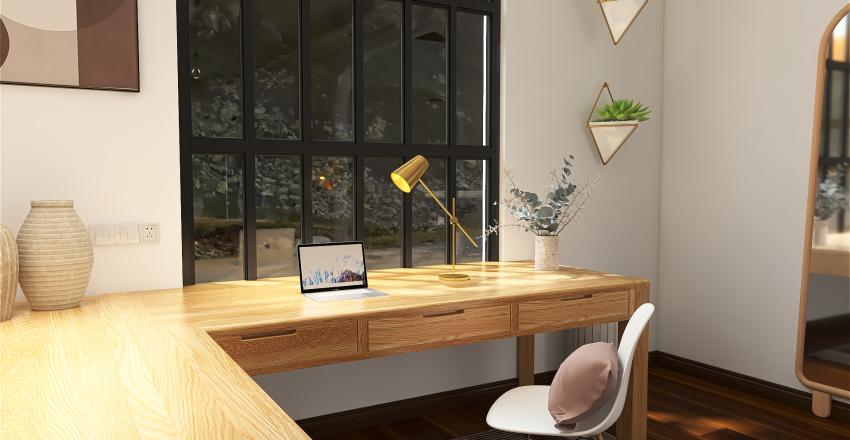 Contryside House Interior Design Render