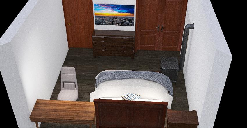 Gross J-Bedroom Interior Design Render