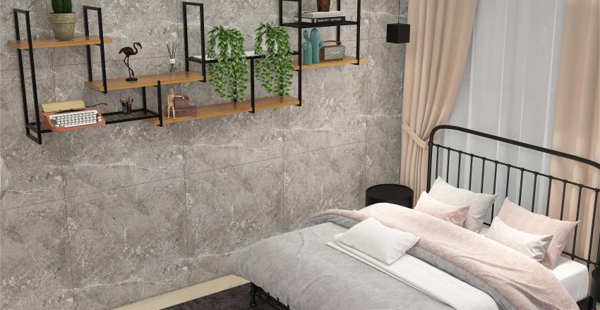 Quarto casal-interiores Interior Design Render
