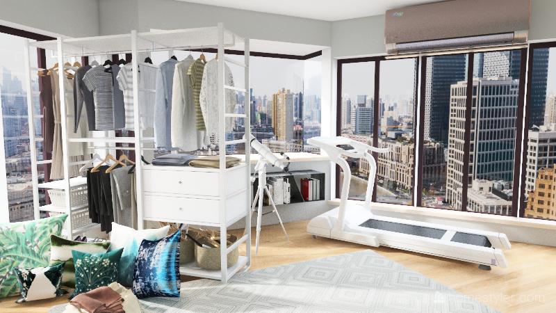 sisters challenge studio Interior Design Render