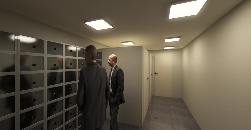 Silk-Road Bank Interior Design Render