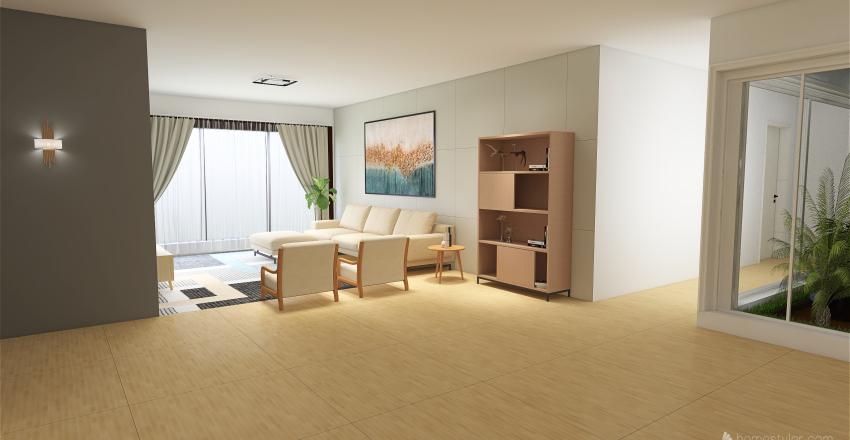 Projeto Casa dos Sonhos Interior Design Render
