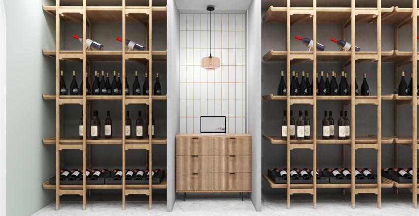Vine boutique in Saint Petesburg on Kirochnaya street Interior Design Render