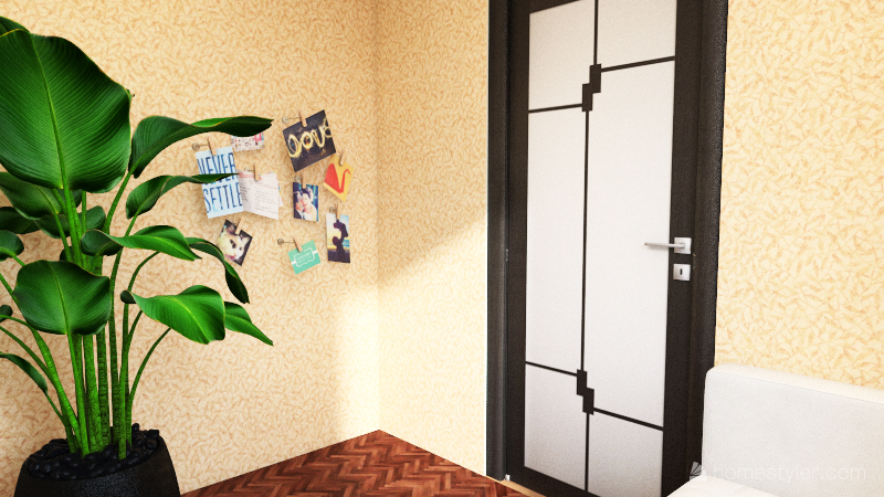 My li'l bro's house Interior Design Render