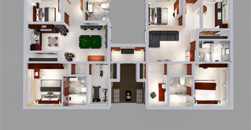 sunparadise734_Rev4 Interior Design Render