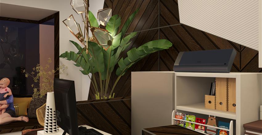 PAPER COFFEE SHOP Interior Design Render