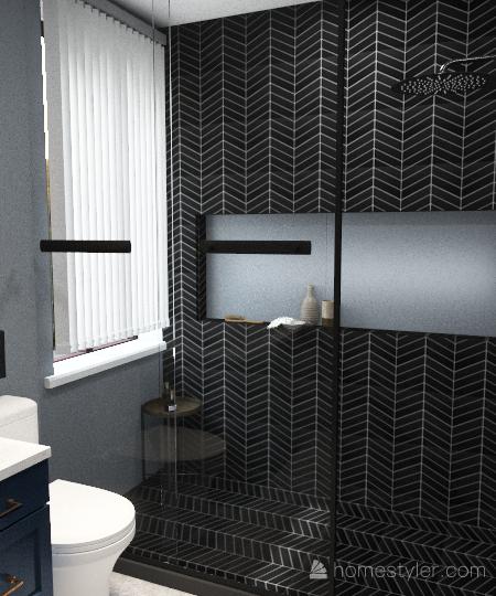 Casa no interior Interior Design Render