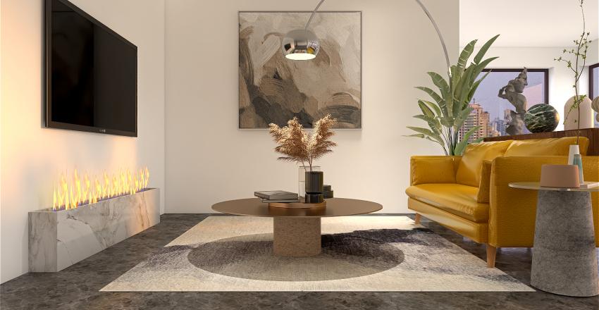 Urban Loft Layout design Interior Design Render