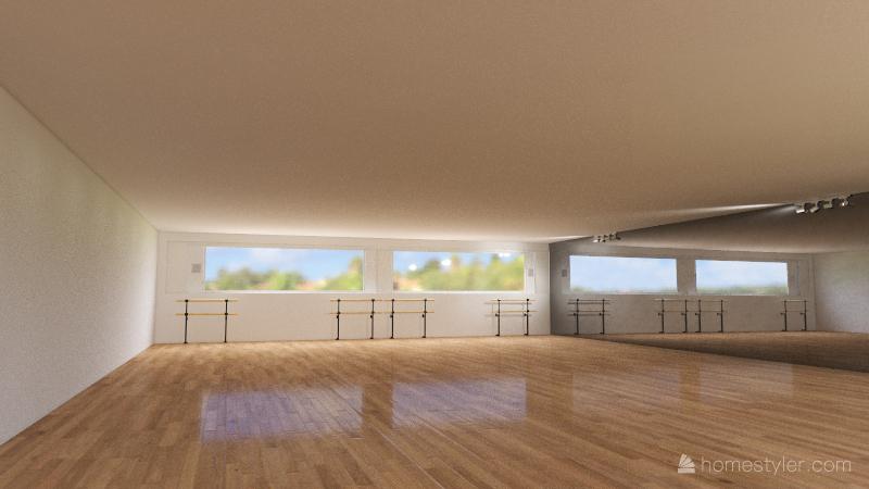 Copy of Estudio de danza Interior Design Render