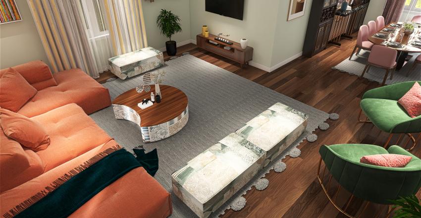 بوهيمي استايل Interior Design Render