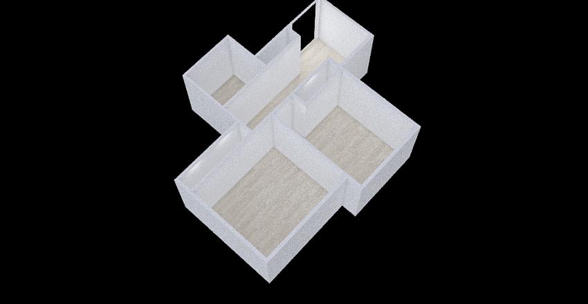 HannaLadzinski-Period4-SecondaryBedrooms Interior Design Render