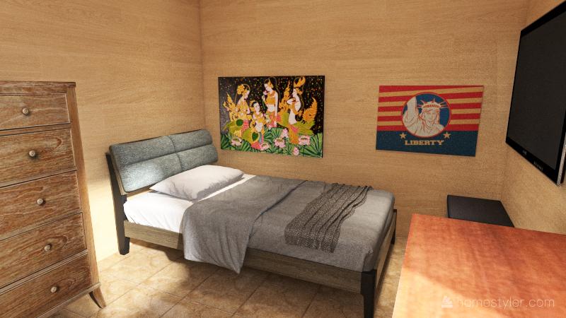 My Bedroom Interior Design Render