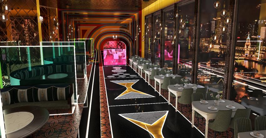 RoyalCafe_2 Interior Design Render