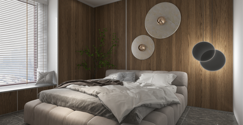 MODERN APARTMENT IN CHINA Interior Design Render