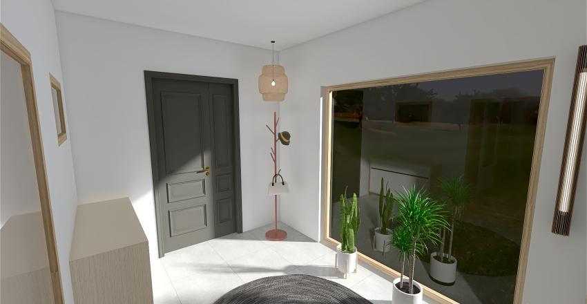 House_OneFloor Interior Design Render