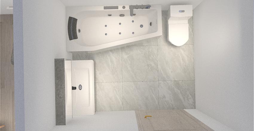 KUCHNIA JEDNORZĘDOWA Interior Design Render