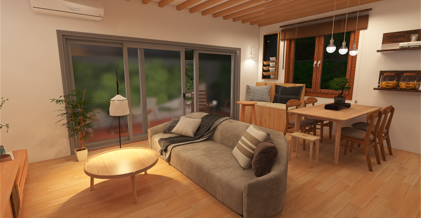 Humble Abode Interior Design Render