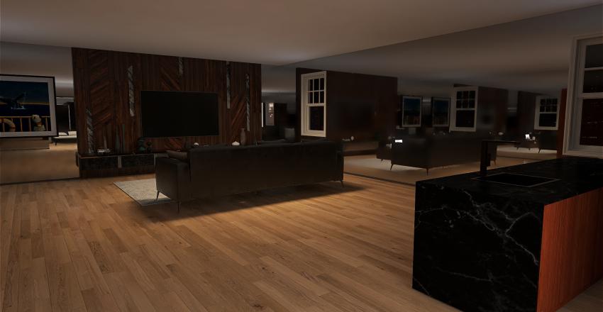 OneBedroomApartment Interior Design Render