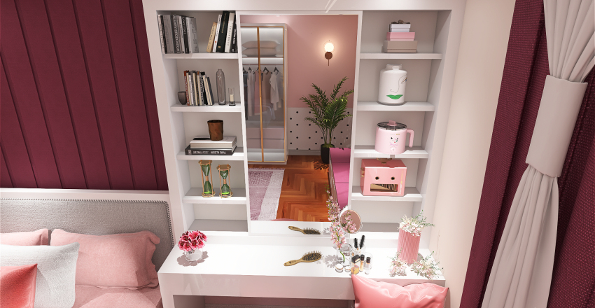 BEDROOM FOR GIRL Interior Design Render
