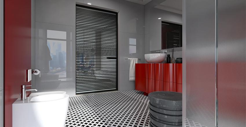Un toque de color Interior Design Render