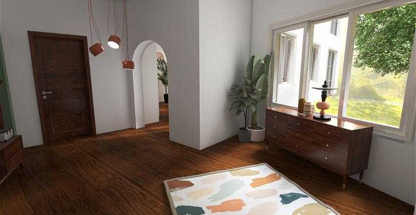 Czech Vila Interior Design Render