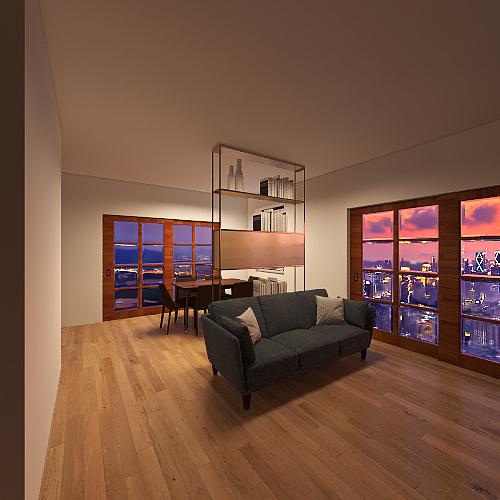 casa dei sogni Interior Design Render