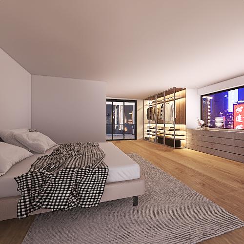 CM HOUSE Interior Design Render